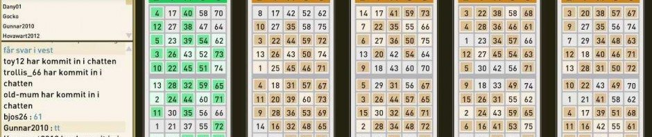 Guld bingo bingorum