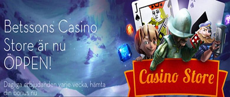 Betsson casino store